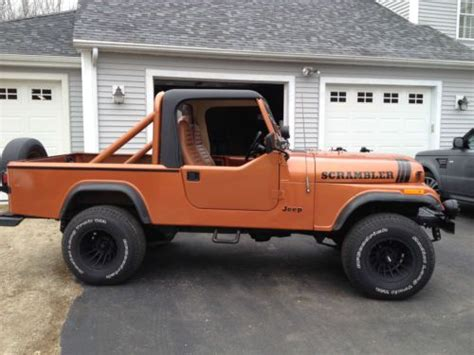 jeep scrambler 4 door buy used 1983 jeep scrambler sport utility 2 door 4 2l in