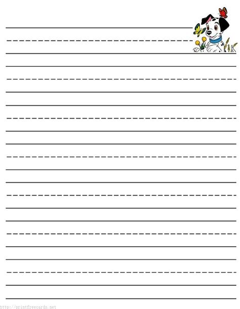 alphabet writing paper free printable stationery for primary lined