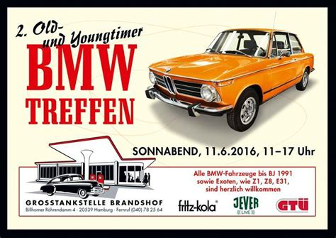 Bmw 1er Treffen 2018 by 2 Bmw Oldtimertreffen Hamburg Cultrod De 2016 Alle
