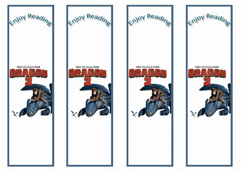 printable dragon bookmarks how to train your dragon bookmarks birthday printable