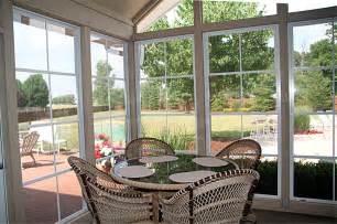 Sun Porch Windows Designs Adorable Sun Room Home Interior Design Ideas With Glass