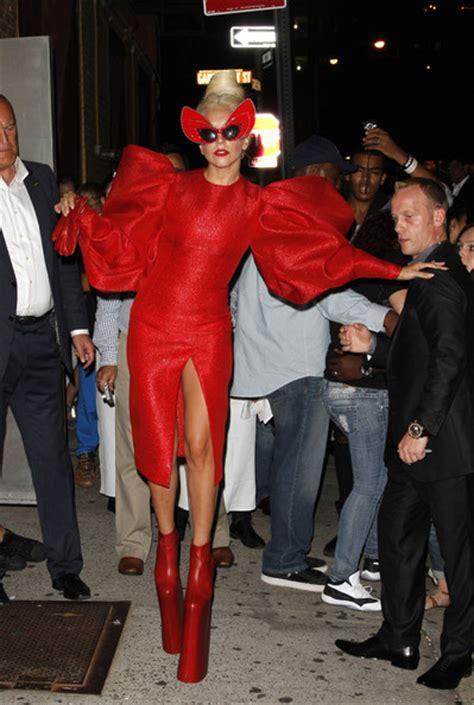 Shows Covered Birthday Crotch by Gaga Pictures Gaga Out In Nyc Zimbio