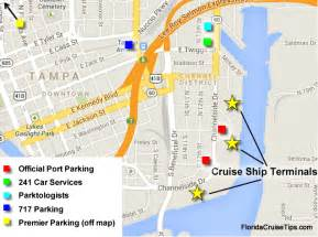cruise ports in florida map ta cruise parking florida cruise tips