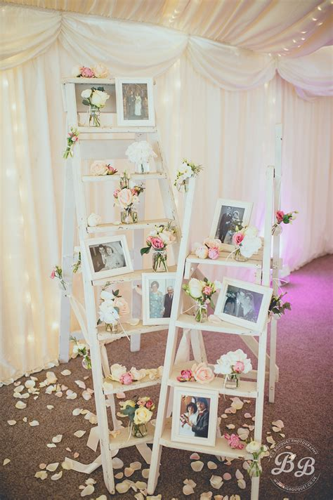 15 ways to creatively display photos at your wedding