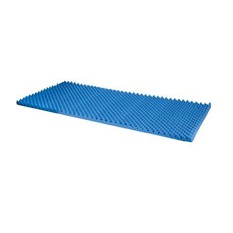 new egg crate convoluted 2 inch foam mattress pad topper
