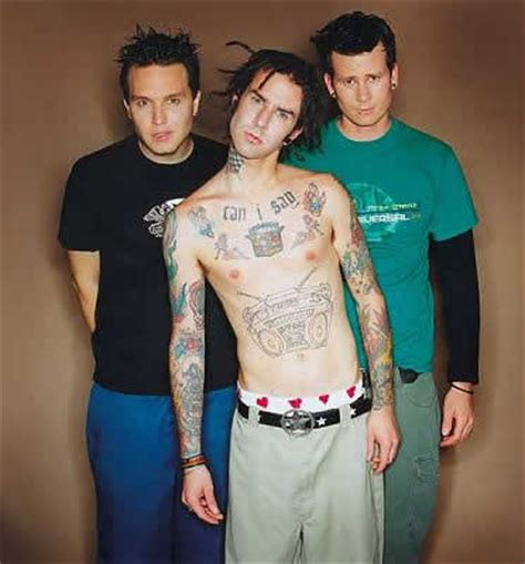 blink 182 tattoos photos pics of band members tattoos