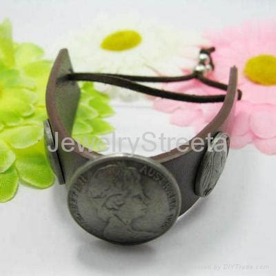 Bangle Korea Plated Gold Leather Kb27739 Zabu pretty leather bracelet silver gold plated buckle belt jewelry china china