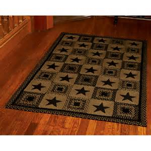 Country Star Rug Ihf Br 203 Country Star Black Area Rug Atg Stores