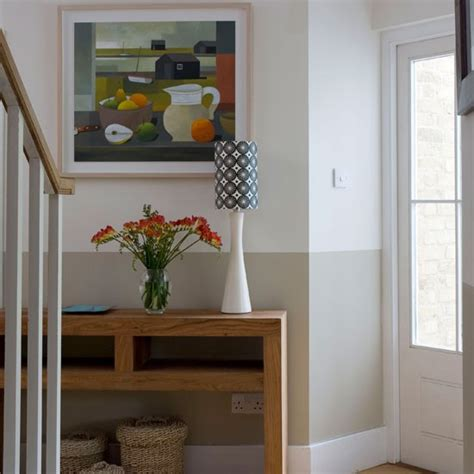 opt for artwork decorating ideas for small hallways