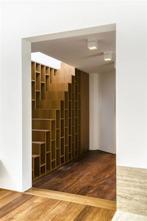 staircase bookcase dwell