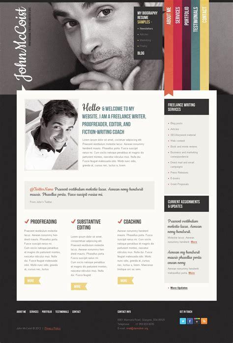 15 Business Templates For Freelancer Websites Personal Business Website Templates