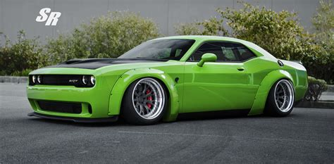 where is the challenger this liberty walk challenger is the green goblin of cars