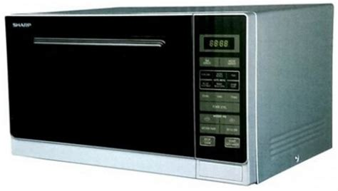 Microwave Sharp 25 Liter Grill Panggang 1000 Watt R728 K In 1 sharp r 32a0 s v 25 liter 900 watt grill microwave oven price bangladesh bdstall