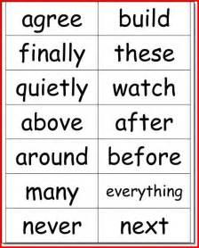 2nd grade sight words flash cards kristal project edu hash