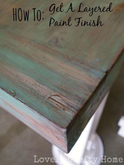 diy weathered table finish paint furniture painted