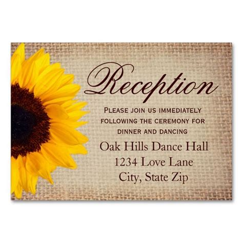 sunflower place cards template 2192 best rustic business card templates images on