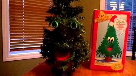 douglas fir the talking tree by gemmy industries