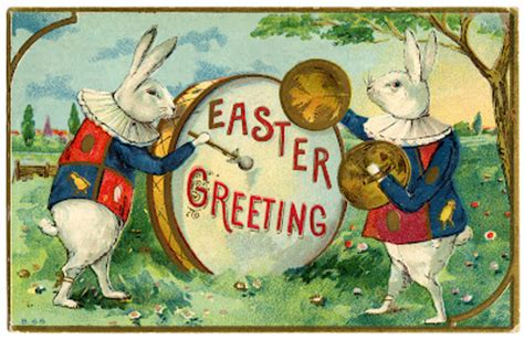 easter image fancy rabbits  drum  graphics fairy