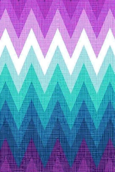 girly ombre wallpaper art background backgrounds blue chevron colorful