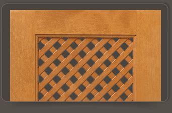 Lattice Cabinet Doors Custom Accent Cabinet Door Styles Walzcraft