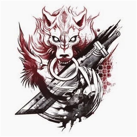 final fantasy 7 tattoo 25 awesome designs
