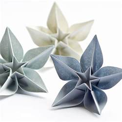 Folded Paper Flower - origami meandyoulookbook