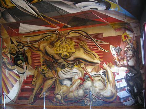 murales de david alfaro siqueiros file murales de la escuela m 233 xico de chill 225 n siqueiros