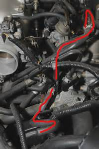 Fuel System Honda Civic 00 Civic Where Does Hose For Fuel Injection Air Fia