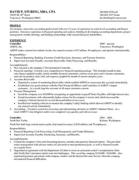 project accountant cover letter best resume exles cna resumes sles search