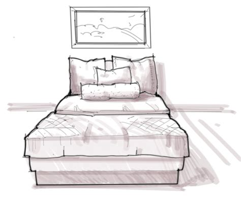 Id Render How To Draw by Bed Easy Pencil And In Color Bed Easy