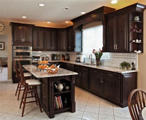 chocolate kitchen cabinets kitchen remodel ideas