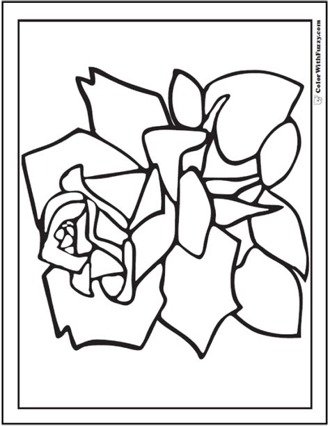 rose petal coloring page 73 rose coloring pages customize pdf printables