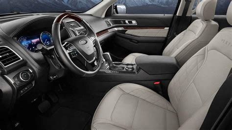 2018 Ford Explorer Interior by What S New With The 2018 Ford Explorer Price Specs