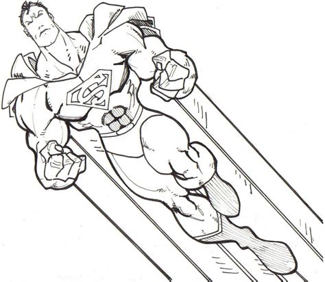 Printable Superman Coloring Pages free coloring pages of comic book