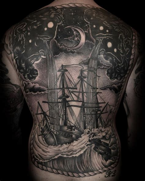 storm tattoo designs sailing evening best ideas designs