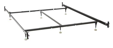 bed frame rails king size metal bed rails new steel bed frame 8 leg