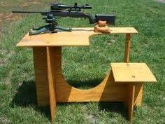 portable gun cleaning bench portable shooting bench woodworking