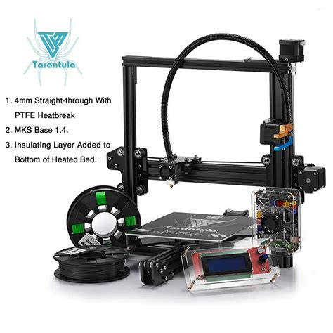 Printer 3d Tarantula tevo tarantula 3d printer kit with 2 free rolls of filament 3d printers bay