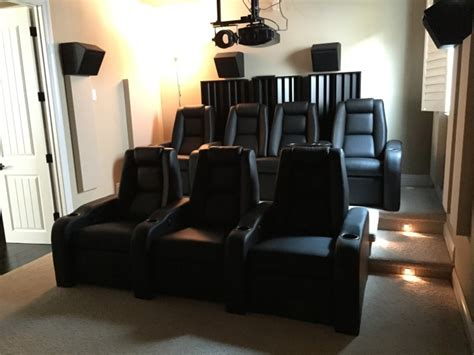 adding  home theater riser   enthusiasts room