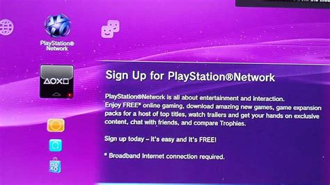 playstation light up sign how to connect your ps3 to the internet and sign up for