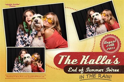 The End Of Summer 2013 The Kallas End Of Summer Soiree 2013 Giggle Booth Photos