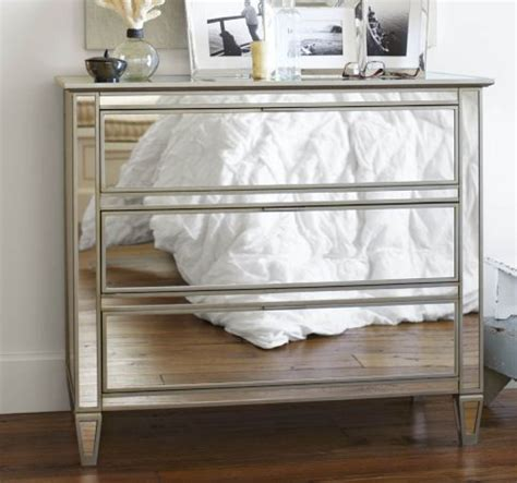 How To Make A Mirrored Nightstand Diy Diy Mirrored Dresser The Tamara Blog