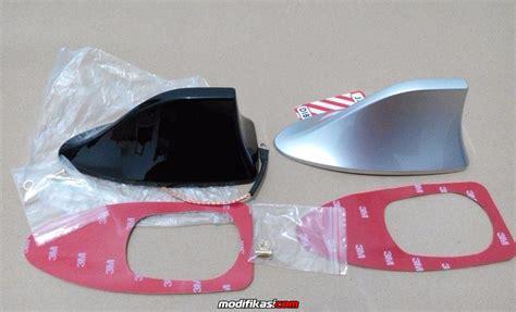 Antena Honda Js Resingantena Fungsi 3 baru shark fin sirip hiu antena aktif silver honda mobilio hrv dll