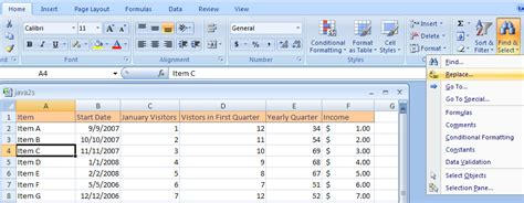 excel 2007 format text change alignment using the ribbon cell format 171 format