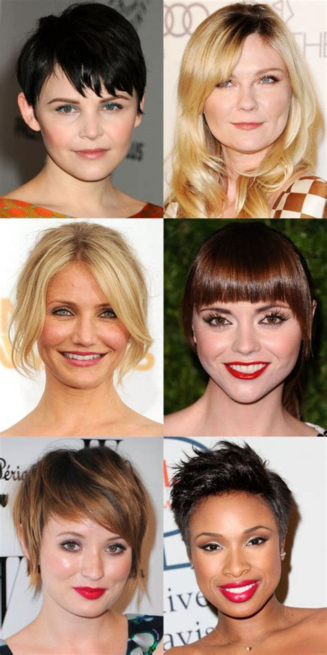 face shapes bangs the best and worst bangs for round face shapes face