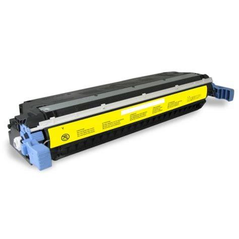 Toner Printer Hp 645a C9732a Yellow Baru hp c9733a 645a magenta