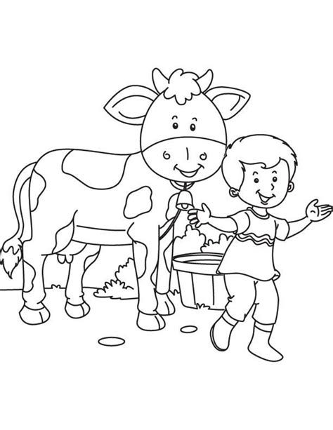 cow bell coloring page my pet cow coloring page download free my pet cow