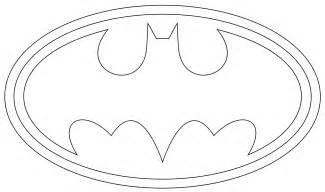 batman logo coloring pages batman logo outline to print and use