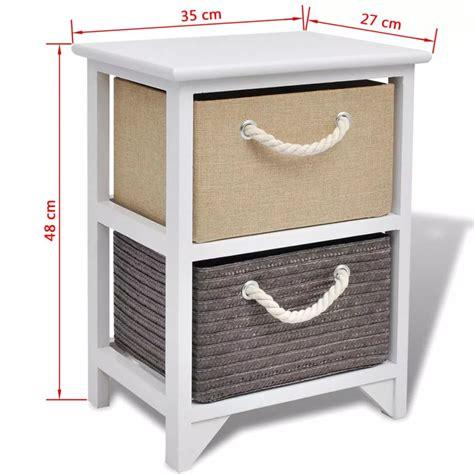 vidaxl bedside cabinet wood vidaxl co uk