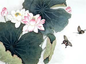 Lotus Flower Painting Nhim Lotus My Favorite Flower
